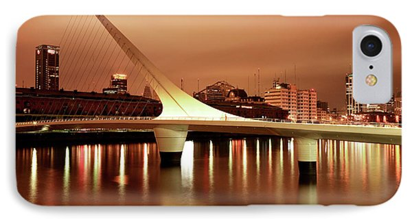 Buenos Aires On Fire IPhone Case by Bernardo Galmarini