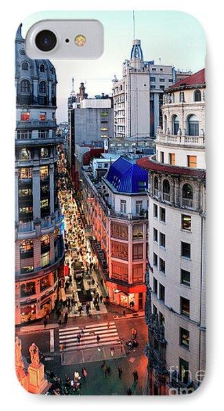 IPhone Case featuring the photograph Buenos Aires Street I by Bernardo Galmarini