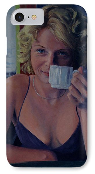 Buenos Aires Two In Transition IPhone Case by Connie Schaertl