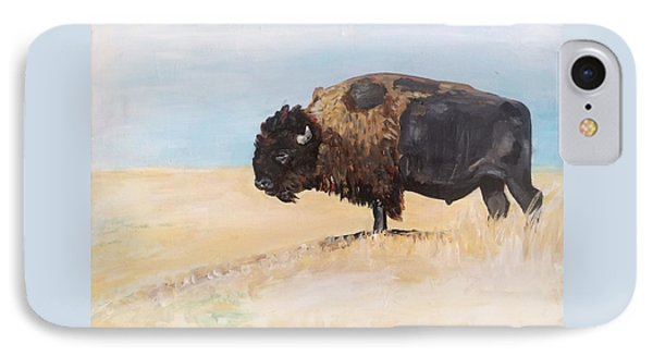 Buffalo IPhone Case by Alana Clumeck