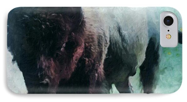 Buffalo American Bison IPhone Case