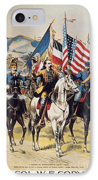 Buffalo Bill: Poster, 1893 IPhone Case by Granger