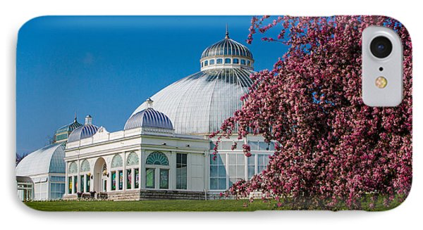 Buffalo Botanical Gardens North Lawns IPhone Case by Don Nieman