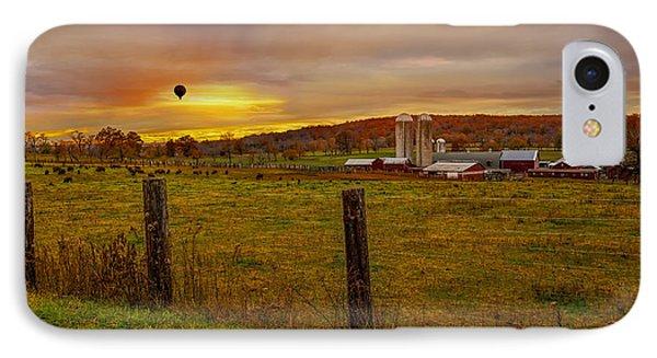 Buffalo Farm Sunset IPhone Case by Susan Candelario