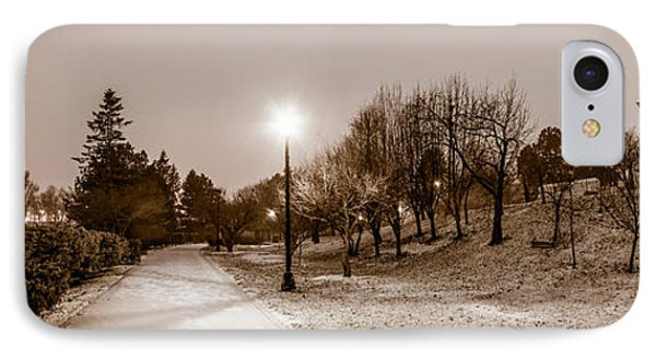 IPhone Case featuring the photograph Buffalo History Museum Winter Twilight  by Chris Bordeleau