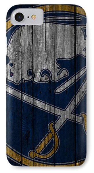 Buffalo Sabres Wood Fence IPhone Case by Joe Hamilton