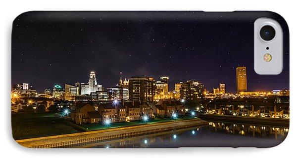 Buffalo Skyline Under The Stars IPhone Case