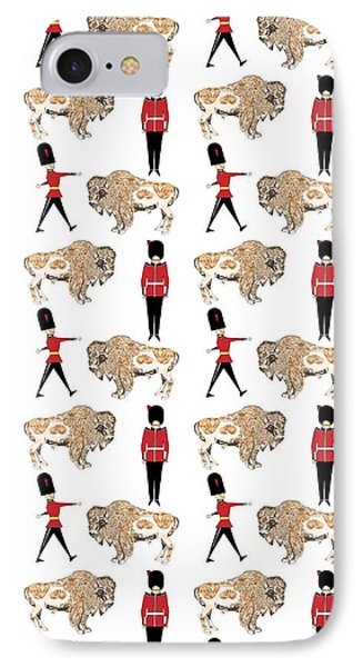 Buffalo Soldier IPhone 7 Case by Beth Travers