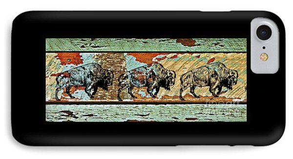 IPhone Case featuring the photograph Buffalo Trail 2 by Larry Campbell