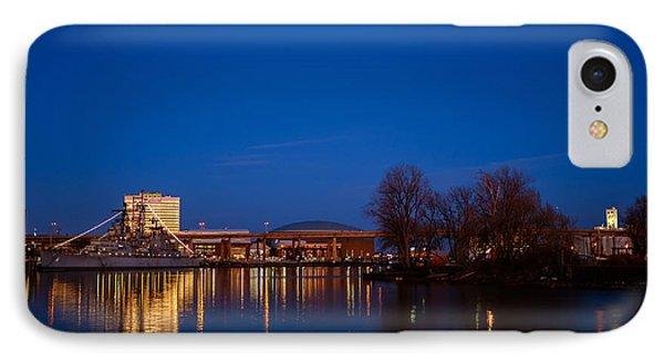 Buffalo Waterfront Twilight IPhone Case