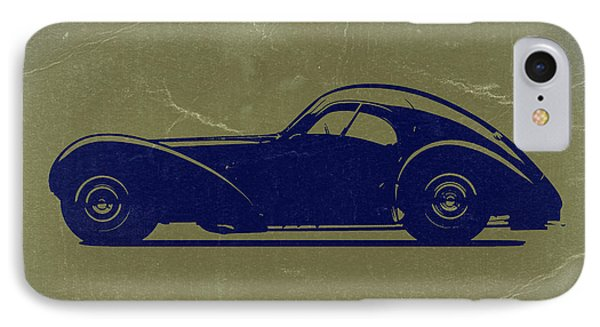 Bugatti 57 S Atlantic Phone Case by Naxart Studio