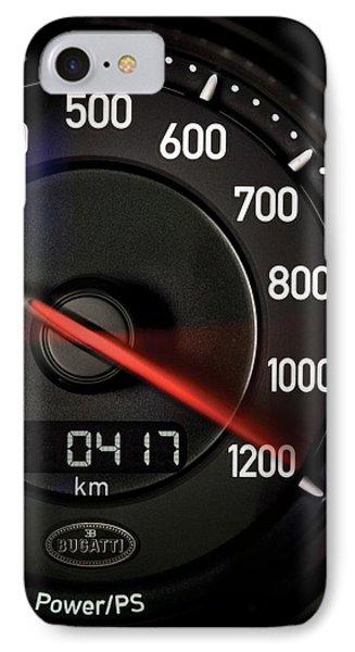 Bugatti Power /ps IPhone Case by Sheila Mcdonald