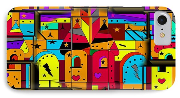 IPhone Case featuring the digital art Build Your Fairytale World By Nico Bielow by Nico Bielow