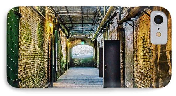 Building 64 Interior #2 - Alcatraz Island IPhone Case by Jennifer Rondinelli Reilly - Fine Art Photography