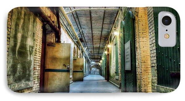 Building 64 Interior - Alcatraz Island IPhone Case by Jennifer Rondinelli Reilly - Fine Art Photography