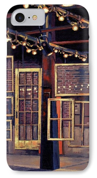 IPhone Case featuring the painting Building 8 At The Factory by Janet King