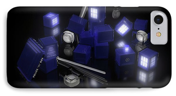 Building Blocks Of Space Time Travel IPhone Case