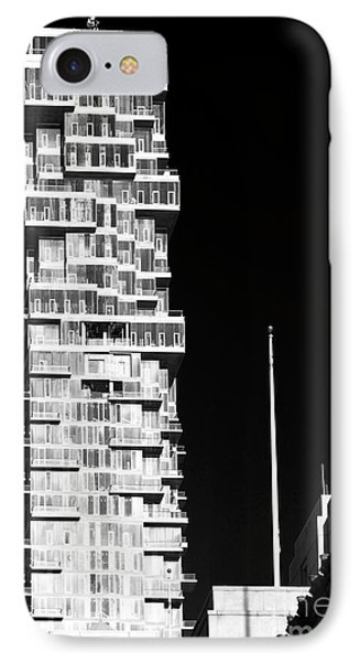 Building Dimensions IPhone Case by John Rizzuto