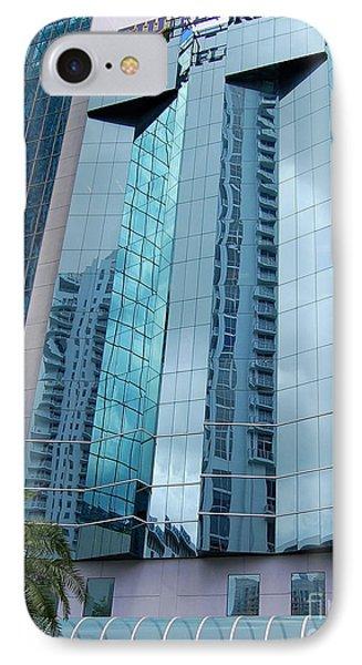 Building Reflection IPhone Case by Agnes Lankus