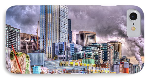 IPhone Case featuring the photograph Building Seattle by Spencer McDonald