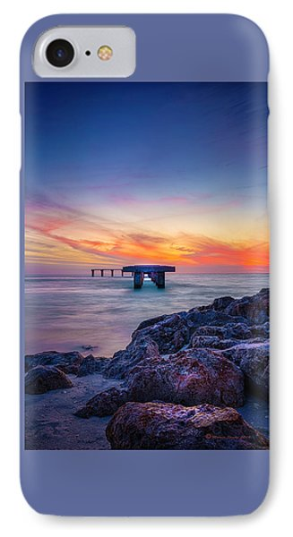 Built On The Horizon IPhone Case by Marvin Spates