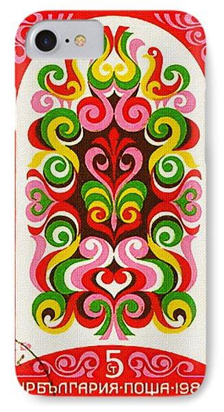 Bulgaria Shows 19 Century Fresco 4 IPhone Case by Lanjee Chee