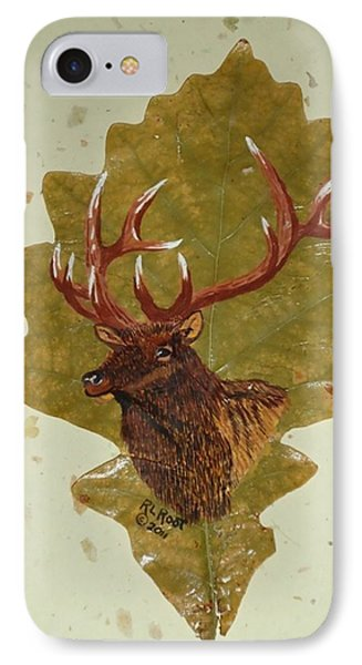 Bull Elk IPhone Case by Ralph Root