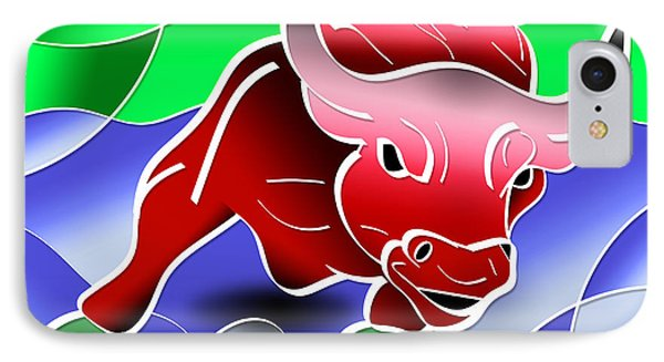 Bull Market Phone Case by Stephen Younts