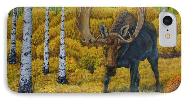 Bull Moose IPhone Case by Veikko Suikkanen
