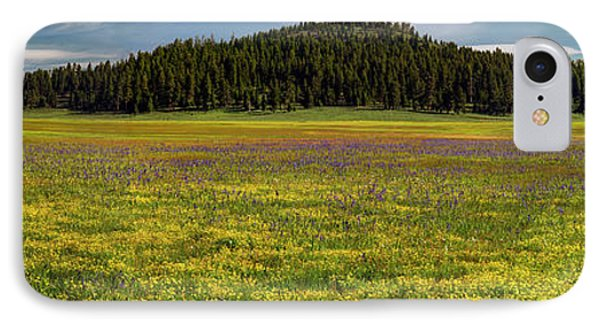 IPhone Case featuring the photograph Bull Prairie by Leland D Howard