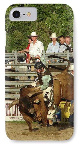 Bull Rider IPhone Case