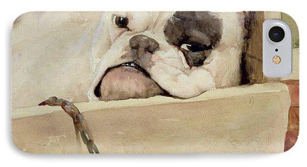 Bulldog Phone Case by Cecil Charles Windsor Aldin