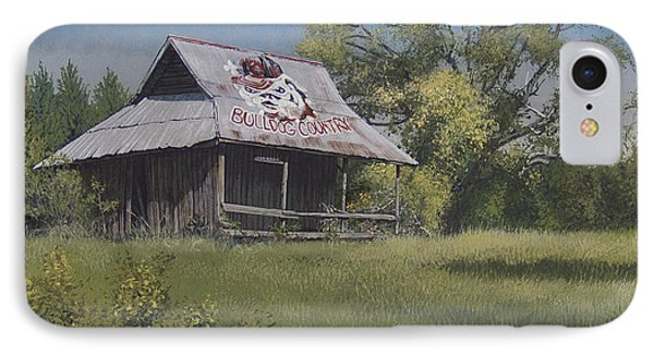 Bulldog Country Phone Case by Peter Muzyka