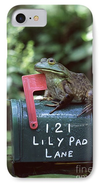 Bullfrog Phone Case by Kenneth H Thomas and Photo Researchers