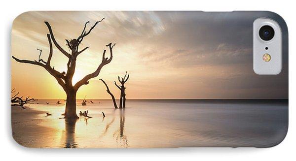 Bull iPhone 7 Case - Bulls Island Sunrise by Ivo Kerssemakers