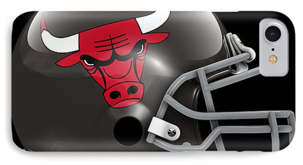 Bulls What If Its Football IPhone Case by Joe Hamilton