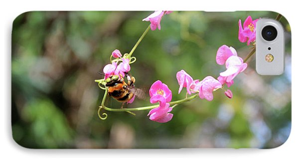 IPhone Case featuring the photograph Bumble Bee1 by Megan Dirsa-DuBois