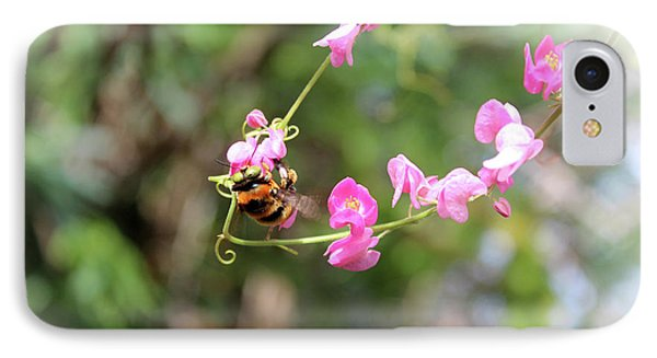 IPhone Case featuring the photograph Bumble Bee2 by Megan Dirsa-DuBois