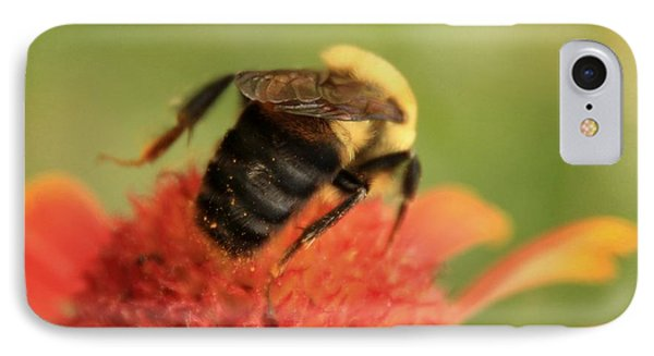 IPhone Case featuring the photograph Bumblebee by Chris Berry