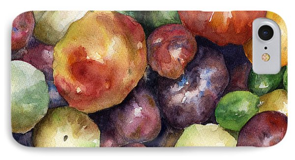 IPhone Case featuring the painting Bumper Crop Of Heirlooms by Anne Gifford