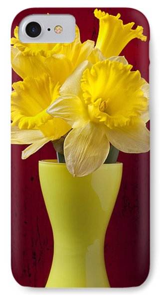Bunch Of Daffodils Phone Case by Garry Gay