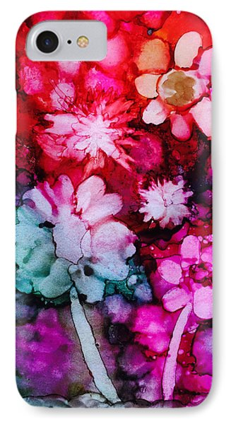 Bunch Of Flowers IPhone Case