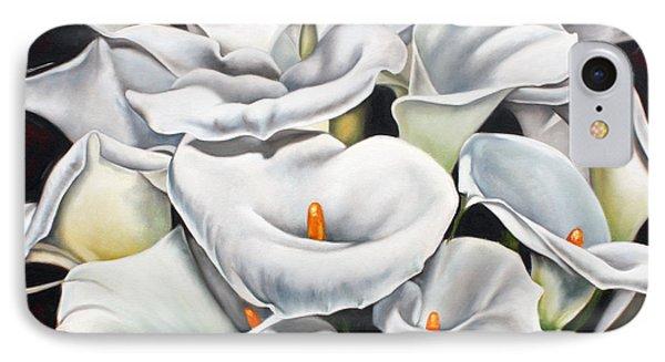 Bunch Of Lilies Phone Case by Ilse Kleyn