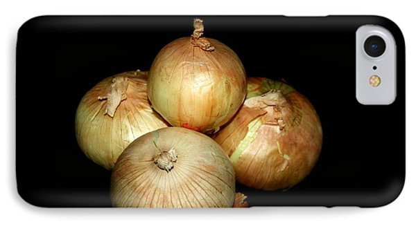 Bunch Of Onions IPhone Case by Cathy Harper