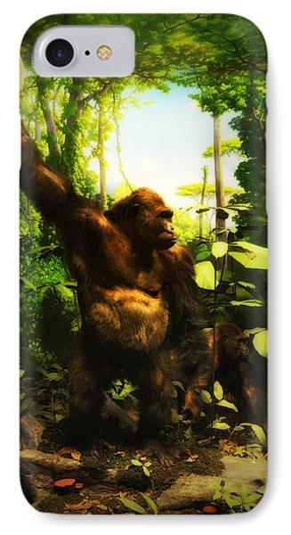Bungle In The Jungle IPhone Case by Bill Cannon