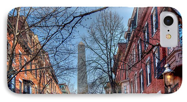 Bunker Hill Phone Case by Susan Cole Kelly