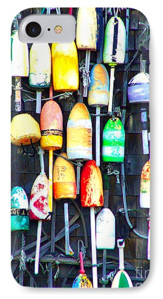 IPhone Case featuring the photograph Buoy Art by Bill Holkham