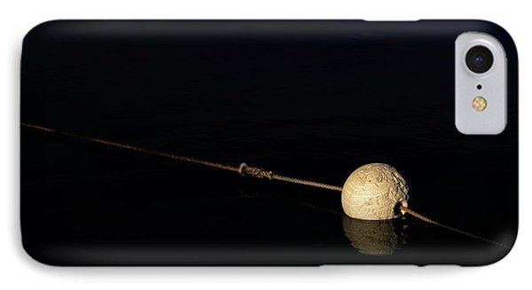 IPhone Case featuring the photograph Buoy At Night by Stephen Mitchell