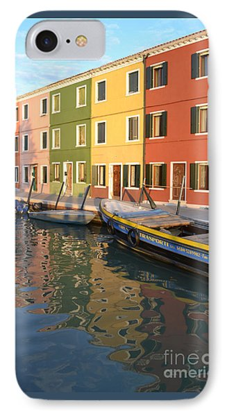 Burano Italy 1 IPhone Case by Rebecca Margraf