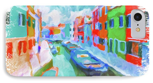 Burano, Venice, Italy IPhone Case by Chris Armytage